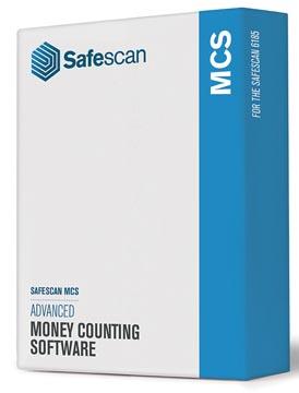 Safescan logiciel MCS 131-0500, pour compteuse de billets