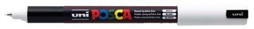 Uni-ball marqueur peinture à l'eau Posca PC-1MR, blanc