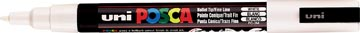 Uni-ball marqueur peinture à l'eau Posca PC-3M, blanc
