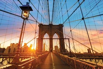 Cadre decoration Brooklyn Bridge, ft 65 x 98 cm