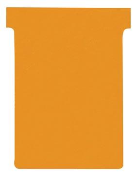 Nobo fiches T indice 3, ft 120 x 92 mm, orange