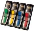 Post-it Index, flèches, ft 12 x 43 mm, set de 4 couleurs, 24 flèches par couleur